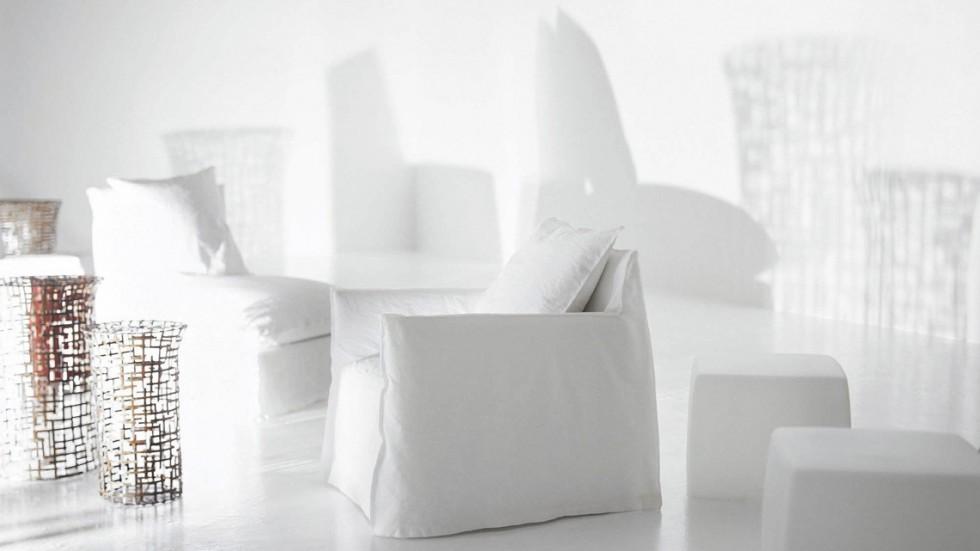 fauteuil ghost 05 gervasoni. Black Bedroom Furniture Sets. Home Design Ideas