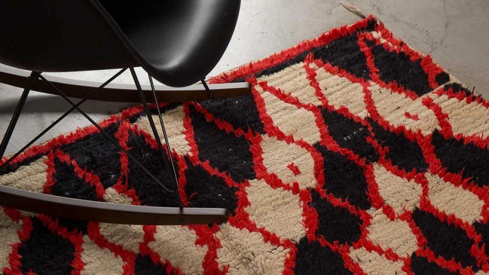 tapis berbere mrirt ancien 2 la maison g n rale. Black Bedroom Furniture Sets. Home Design Ideas