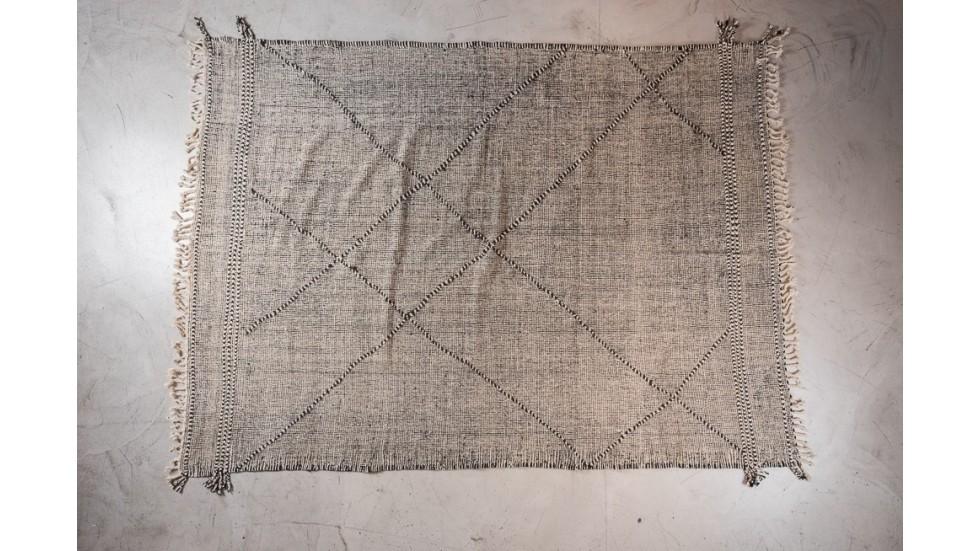 NOUVEAU- TAPIS BERBERE BOUJAD- motifs losange- 298x217