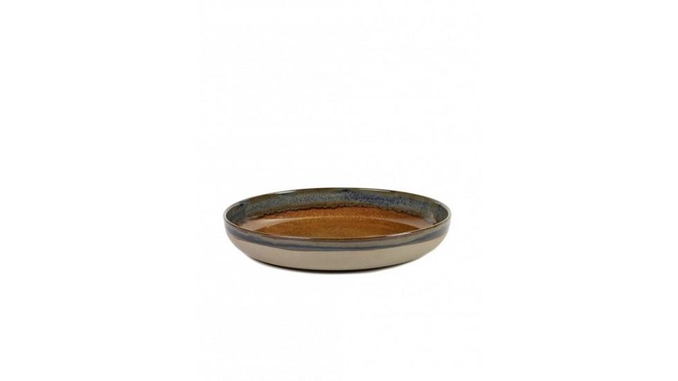 Plat collection Surface-Serax- Rusty -Diamètre 32 cm