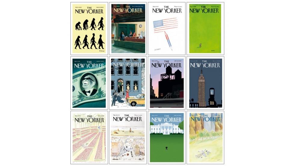 set de cartes postales The New Yorker - 10,5x15 cm