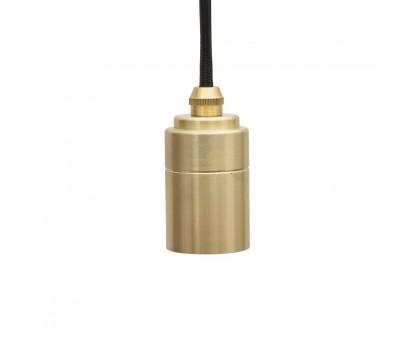 Cable de suspension- Fil tissu et douille en laiton