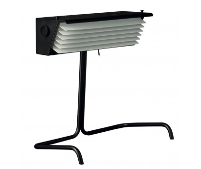 LAMPE A POSER | BINY TABLE BLACK | AILETTES BLANCHES