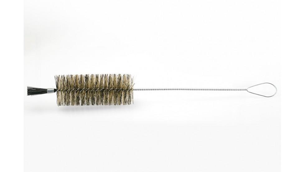 Goupillon à bouteille - nylon et inox - 51 cm