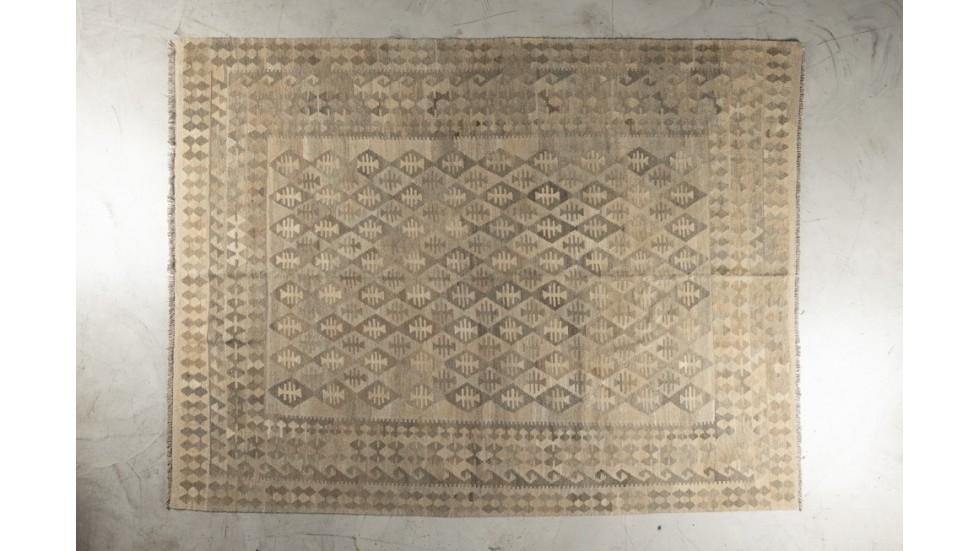 Tapis kilim afghan Maimana - laine - 306x235cm