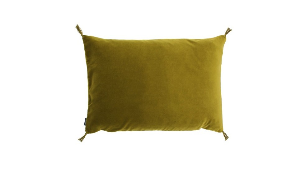 COUSSIN VELOURS SMOOTH CARAVANE CITRINE
