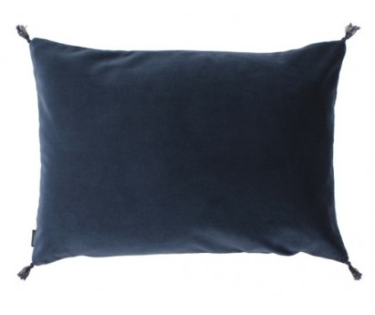 COUSSIN VELOURS SMOOTH CARAVANE NAVY