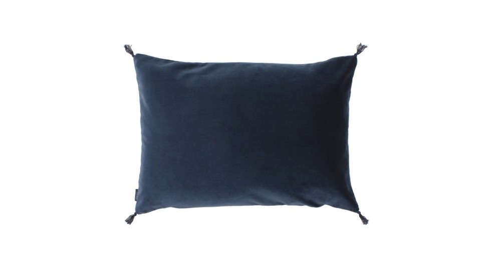 COUSSIN VELOURS CARAVANE - SMOOTH - NAVY