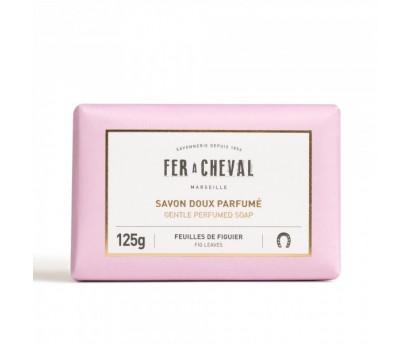 SAVON DOUX PARFUME | FER A CHEVAL | FEUILLES DE FIGUIER | 125G