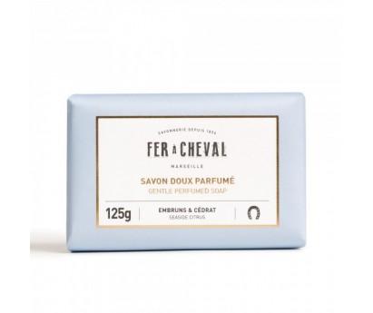 SAVON DOUX PARFUME | FER A CHEVAL | EMBRUNS&CEDRAT | 125G