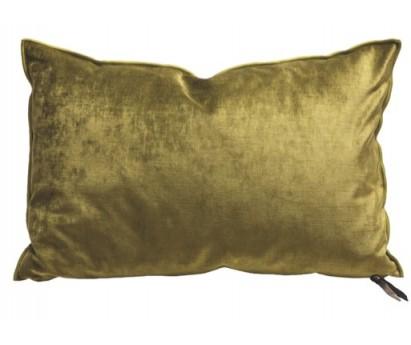 COUSSIN VICE VERSA   VELOURS ROYAL   30cm x 50cm   ABSINTHE