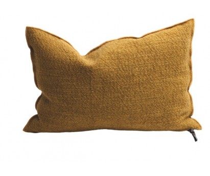 COUSSIN VICE VERSA   TOILE NOMADE   40cm x 60cm   OCRE