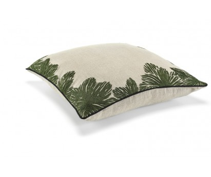 COUSSIN LOUISE - LIN BRODE - 50x50 cm  tropical