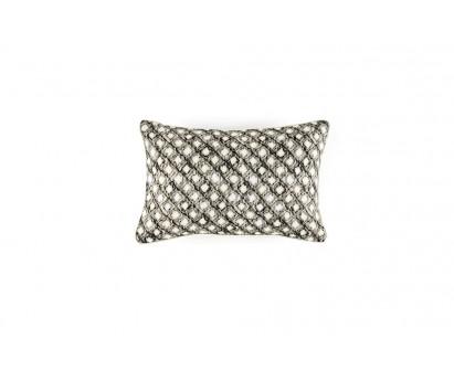 Coussin Diamond- 100% coton- White disco- 30x45cm