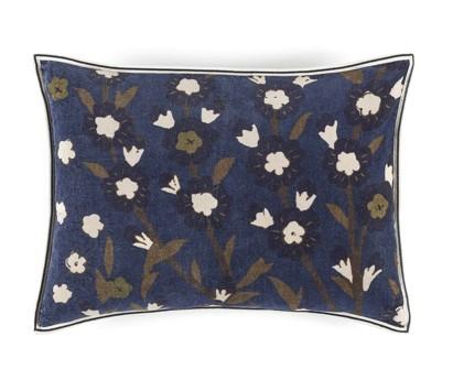 Coussin flora roi du pétrole- élitis- Velours- 40x55 cm