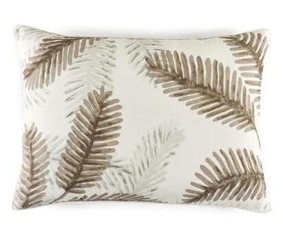 Coussin Palma beige 100% lin- 50 x70cm