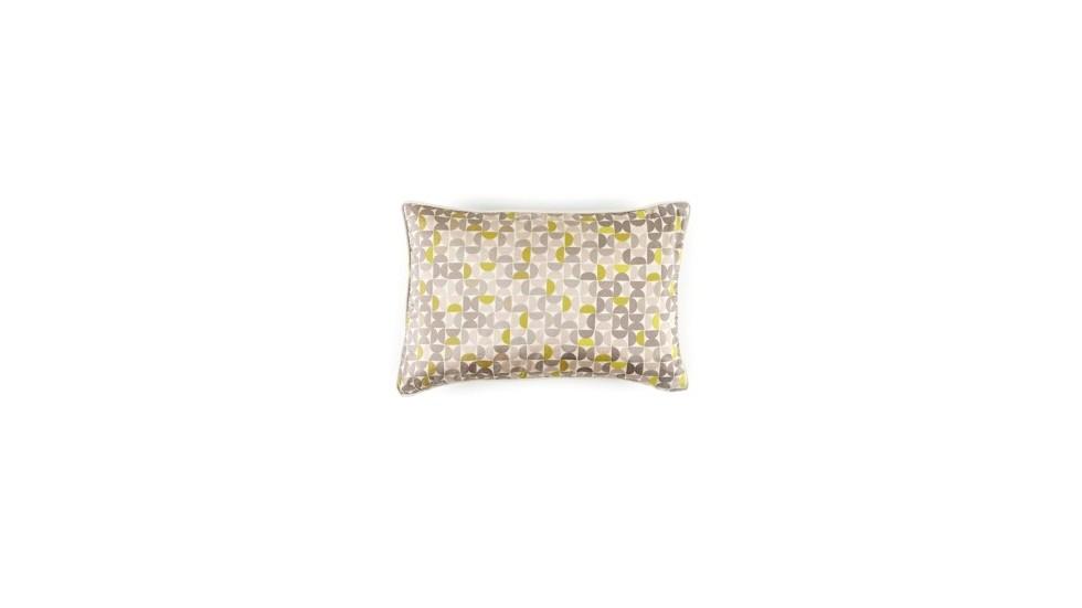 COUSSIN DIABOLO - 100% SOIE- ROSE SWEET-30x45 cm