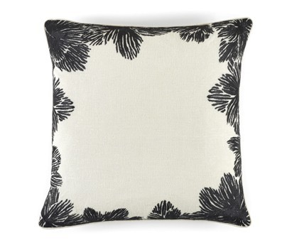 COUSSIN LOUISE | 50cm x 50cm | 100% LIN BRODE | NIGHT AND DAY