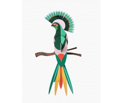 DECORATION MURALE | OISEAU DU PARADIS | GILI | 23cm x 7cm x 27cm