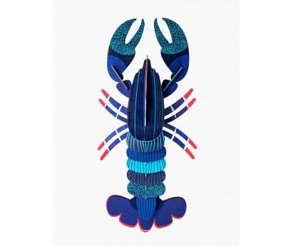 Décoration murale - Homard Bleu- Petit modèle