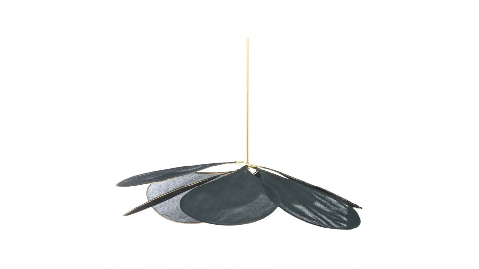 Suspension Pale medium- 8 pétales- diamètre 120 cm- anthracite