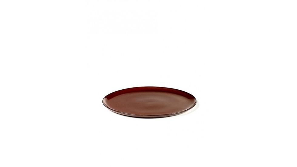 Assiette Terre de Rêve -M-Diamètre- 22cm -Rust