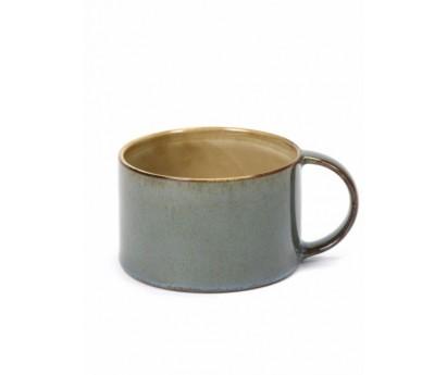 TASSE A CAFE TDR   D8cm x H5cm   MISTY GREY/SMOKEY BLUE