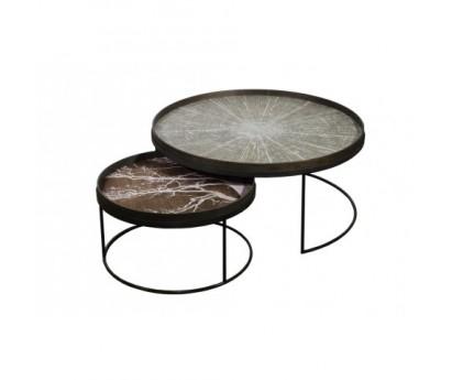 set-de-2-tables-basses-plateau-rond-en-metal-taille-xl