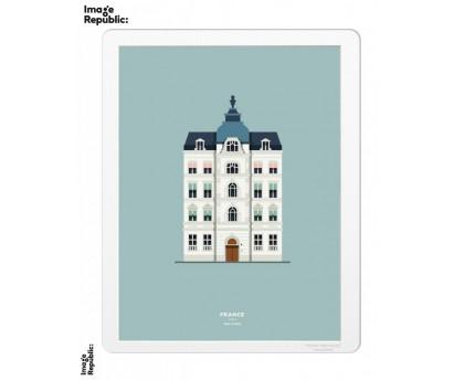 IMAGE | LE DUO | 40cm x 50cm | FRANCE PARIS