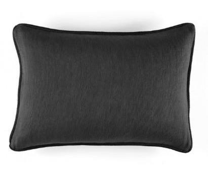 COUSSIN COTON WAVELETS - GRAPHITE - 40x55cm