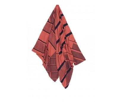 FOUTAS GEMMA | 100% COTON | 100cm x 200cm | 44 CORAIL