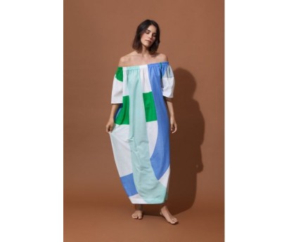 ROBE PALAO - TAILLE UNIQUE - VISION MENTHE