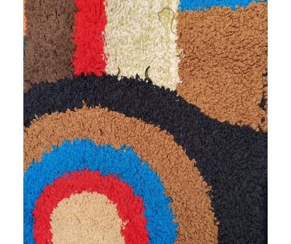 TAPIS ZENDACK LAINE ET COTON NOUE MAIN - N°18 - 76x50cm