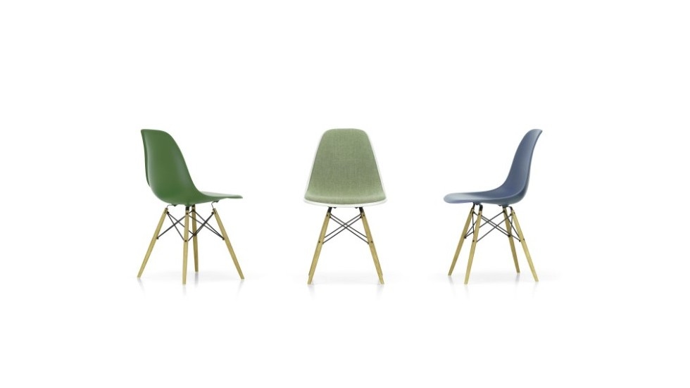 Chaise design - Eames Plastic Side Chair DSW