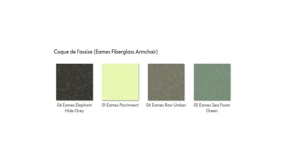 Fauteuil design - Eames Fiberglass Armchair DAR