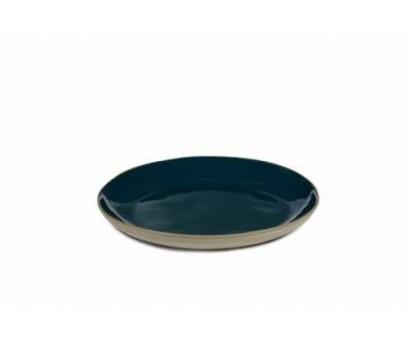 ASSIETTE RURAL - L - BLEU - 25cm