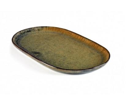 ASSIETTE TAPAS SURFACE | 15cm x 25cm H1.5cm | INDI GREY | S