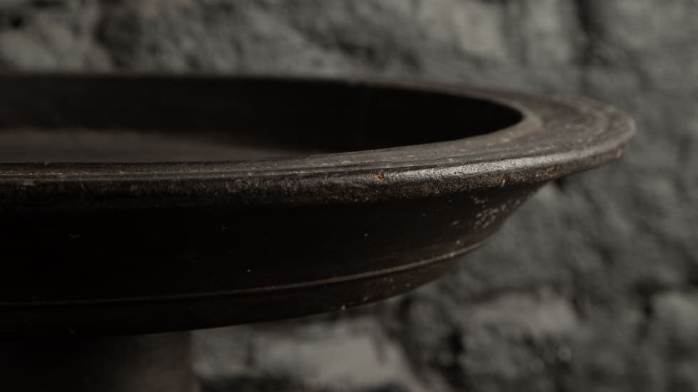COUPE NIAS EN BOIS DE MERBEAU|| DIAMETRE 64cm