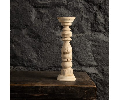 BOUGEOIR ANCIEN |  Ø11cm x H38cm