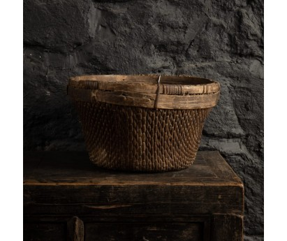 PANIER ROND ANCIEN - 29cm