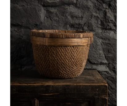 PANIER ROND ANCIEN - 38cm