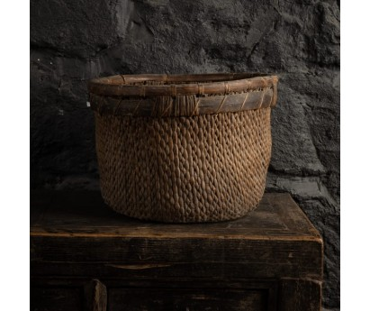 PANIER ROND ANCIEN - 32cm