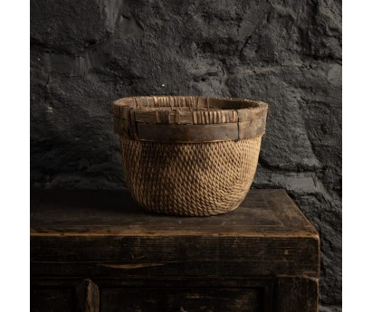 PANIER ROND ANCIEN - 30cm