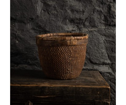 PANIER ROND ANCIEN - 28cm