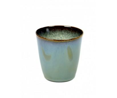 GOBELET CONIQUE TERRE DE RÊVE - S - SMOKEY BLUE/MISTY GREY - 7x7.5cm