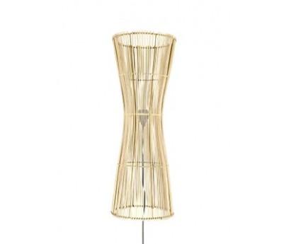LAMPE A POSER HALO - ROTIN - NATUREL - 25x71cm