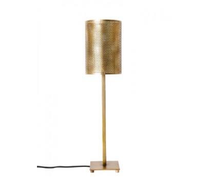LAMPE A POSER LORY - ACIER PATINE BRONZE - 51cm