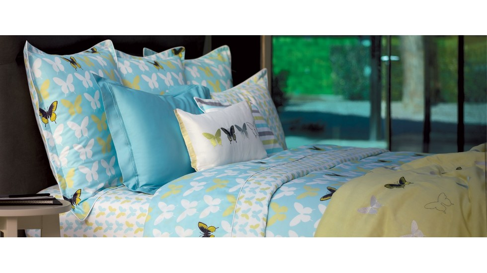 Taie d'oreiller carrée ou boudoir Envol