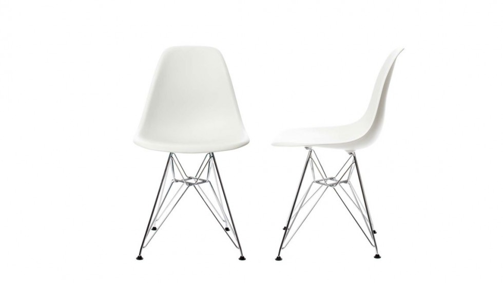 CHAISE DESIGN VITRA EAMES PLASTIC SIDE CHAIR DSR