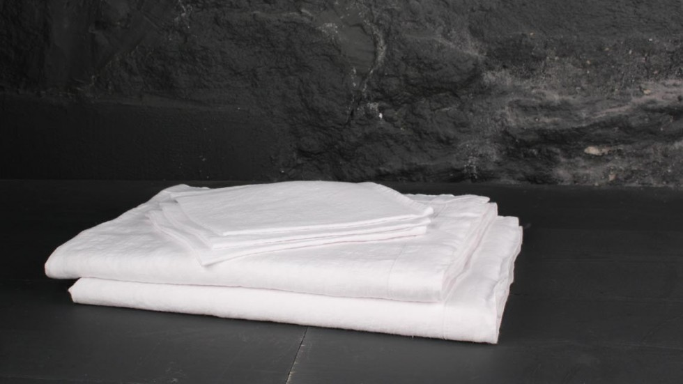 SERVIETTE DE TABLE EN LIN PANTELLERIA - BLANC